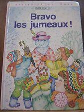 Enid Blyton: Bravo les jumeaux! / Bibliothèque Rose, 1980