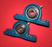 2 Gehäuselager / Stehlager / Stehlagereinheit UCP 204 / 20 mm Wellendurchmesser