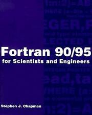 FORTRAN 90/95 for Scientists and Engineers, Chapman, Stephen J., Good Book