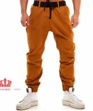 MEN'S JOGGER PANTS WITH ZIPPER