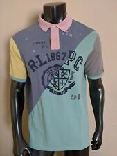 Polo Ralph Lauren Mesh Shirt Mens Sz M Multi-Color Montauk Graphic NWT $125