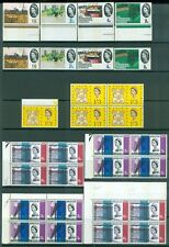 GREAT BRITAIN : Nice group of all Very Fine, Mint NH Phosphors. Catalog £254.00