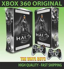 XBOX 360 HALO ANNIVERSARY 001 STICKER SKIN COVER & 2 PAD SKINS