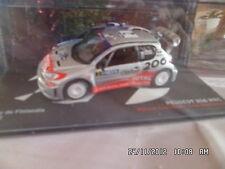 PEUGEOT 206 WRC RALLYE DE FINLANDE 2002 IXO 1/43  B12
