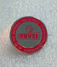 very rare pin THE NATIONAL VOLLEYBALL FEDERATION of INDONESIA  old