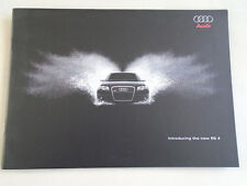Audi RS4 brochure Nov 2005