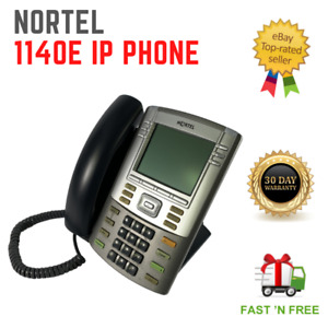 Avaya / Nortel 1140E IP VoIP PoE Desktop Phone NTYS05