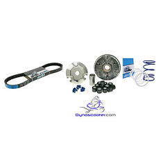 Polini High performance variator kit with belt and clutch springs Honda Ruckus