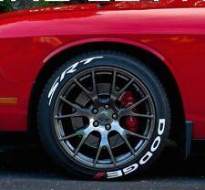 DODGE SRT Permanent Tire Lettering sticker 16''- 20''  (9 Kit )