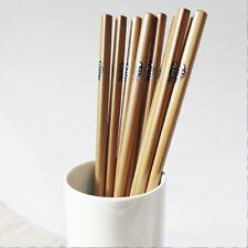 5 Pairs Bamboo Wooden Chinese Chopsticks Japanese Cherry Tableware Dinner