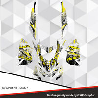 SKI-DOO XP MXZ SNOWMOBILE SLED WRAP GRAPHICS STICKER DECAL KIT 2008-2013 SA0377