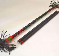 Alu Flowerstick rot/grün Devilstick Flower Devil Stick Sticks Jonglierstäbe
