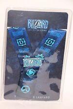 Blizzcon 2016 Collectible Series 3 Trading Pin Lanyard + Blizzard Logo Pin