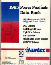 ELANTEC Data Book 1995 Power Products