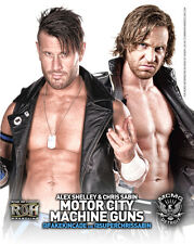 Official ROH Ring of Honor Motor City Machine Guns (Shelley & Sabin) UK 8x10