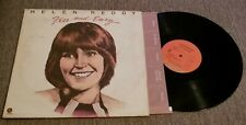 "Helen Reddy....""Free And Easy"" 12"" Vinyl Record LP"