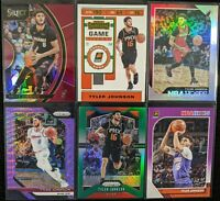 Lot of (6) Tyler Johnson, Including Select /199, Hoops /199, Prizm SP & more