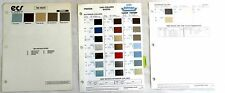 1985  MAZDA DUPONT AND ECS  COLOR PAINT CHIP CHART ALL MODELS