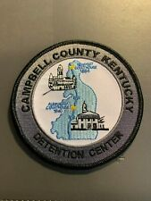 CAMPBELL COUNTY KENTUCKY DETENTION CENTER PATCH