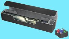 ULTIMATE GUARD FLIP n TRAY MAT CASE XENOSKIN BLACK Game Playmat Storage Box MTG
