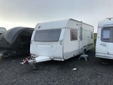 BURSTNER VENTANA 500TS 4 BERTH FIXED BED CARAVAN 2006 UK SPEC