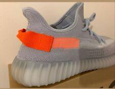 adidas Yeezy Boost 350 V2 Tail-Light, Tailgate, Grey, Orange, BNWT, UK 9.5