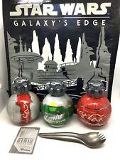 Star Wars Galaxy's Edge TOTE Bag w/Thermal Detonator Sprite Diet Coke & Spork
