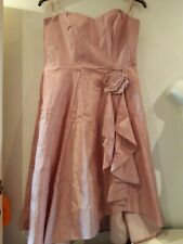 Pink Prom/bridesmaid Dress. Size 14. Debut. New