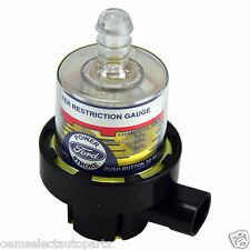 OEM NEW 05-07 Ford Super Duty Diesel Power Stroke Air Filter Restriction Gauge