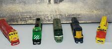 Vintage Train Parts Lot of 5 Santa Fe, Chattanooga, Rock Island, 5628