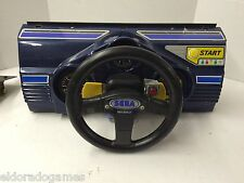 Sega Race Rally Kit Game Arcade Control Player Panel Assembly USED #2420
