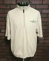 Four Seasons Resort Greg Norman 1/4 Zip Golf Jacket Men's Size Medium