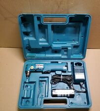 Makita DA301D 3/8-Inch 7.2v Cordless Angle Drill- Battery- Charger- Case - Works