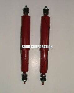 "1971-1973 Ford Mustang Rear Gabriel Gas Shocks Extended 17.4"" Comp. 10.59"""