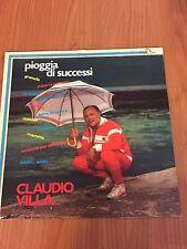 LP CLAUDIO VILLA PIOGGIA DI SUCCESSI PL 555 EX/EX+ ITALY PS 1981 RAI