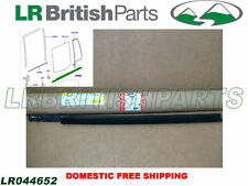 GENUINE LAND ROVER REAR DOOR WINDOW OUTER WEATHERSTRIP LR3 LR4 LH LR044652 NEW