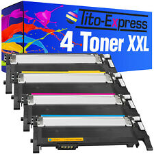 4 Toner XXL ProSerie für Samsung CLT-406S Xpress C410W C460FW C460W C467W