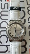 Swatch Wint & Kidd YLS434 2008 Irony 33mm James Bond Special Leather