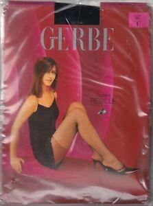 Collant GERBE RESILLE (ancien modèle) coloris Noir ou Opéra. Fishnet tights.