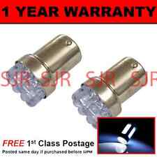 207 1156 BA15s 382 P21W WHITE 8 DOME LED SIDELIGHT SIDE LIGHT BULBS X2 SL200701