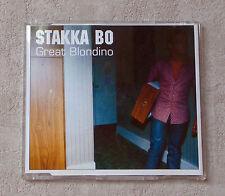"CD AUDIO MUSIQUE INT / STAKKA BO ""GREAT BLONDINO"" CD MAXI-SINGLE 1995  4T"