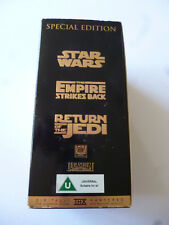 Star Wars Trilogy Special Edition Box Set On VHS Video