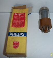 PHILIPS USA 6V6GTY AMPOULE  TUBE TSF RADIO .