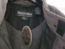 Men's Pelle Pelle Trench Jacket PVC, Black 2XL