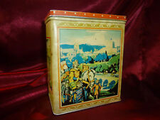 Rare CARR & Co CARLISLE HISTORICAL PAGEANT Tin - History, Cathedral, Gateway