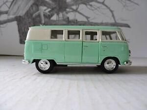 Kinsmart 1962 VW Volkswagen Classical Bus Diecast Model Toy 1:32