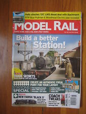 MODEL RAIL June 2010 railroad Farish Black train OO LMS Diesel Pullman Woodhead