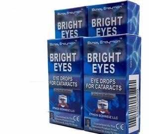Ethos Cataract NAC Eye Drops Bright Eyes 4 Boxes 40ml