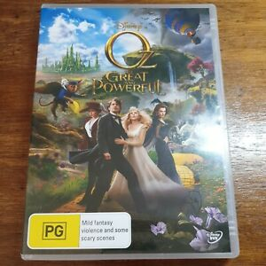 Oz the Great and Powerful Disney DVD R4 Like New! FREE POST