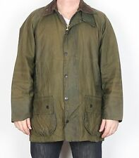 "BARBOUR Beaufort Wax Jacket coat 46"" XL XXL Green (KDE)"